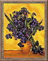 """Набор для вышивания крестом """"Ван Гог. Ирисы"""""""