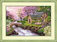 """Набор для вышивания крестом """"Весенний пейзаж"""""""