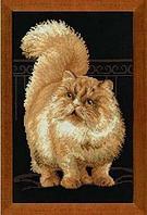 """Набор для вышивания крестом """"Персидский кот"""""""