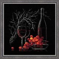 """Набор для вышивания крестом """"Натюрморт с красным вином"""""""
