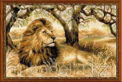 """Набор для вышивания крестом """"Царь зверей"""""""