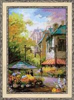 """Набор для вышивания крестом """"Цветочная улица"""""""