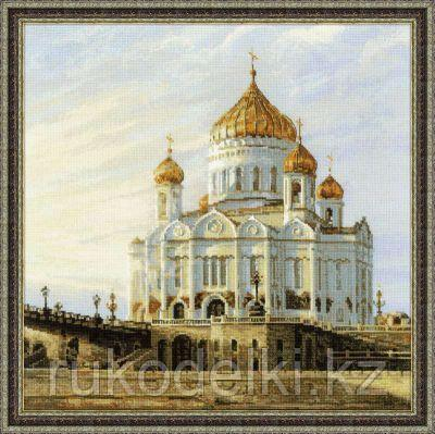 """Набор для вышивания крестом """"Москва. Храм Христа Спасителя"""""""