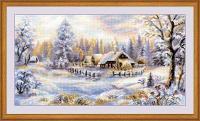 """Набор для вышивания крестом """"Зимний вечер"""""""