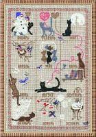 """Набор для вышивания крестом """"Календарь"""""""