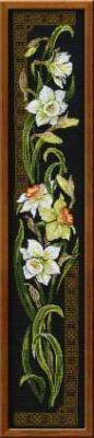 """Набор для вышивания крестом """"Нарциссы"""""""