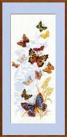 """Набор для вышивания крестом """"Бабочки России"""""""