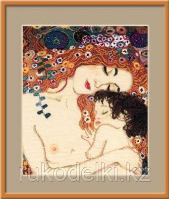 """Набор для вышивания крестом """"""""Материнская любовь"""" по мотивам картины Г. Климта"""""""