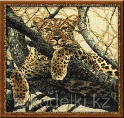 """Набор для вышивания крестом """"Леопард"""""""