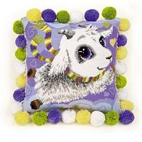 """Набор для вышивания крестом """"Подушка. Козлик"""", фото 1"""