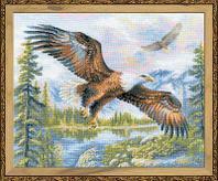 """Набор для вышивания крестом """"Свободный полёт"""", фото 1"""