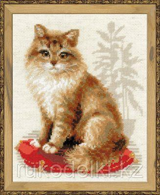 """Набор для вышивания крестом """"Кошка домашняя"""""""