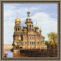 """Набор для вышивания крестом """"Санкт-Петербург, Храм Спаса-на-Крови"""""""