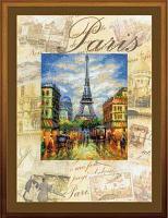 """Набор для вышивания крестом """"Города мира. Париж"""""""