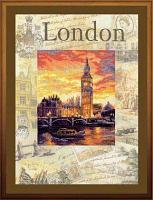 """Набор для вышивания крестом """"Города мира. Лондон"""""""