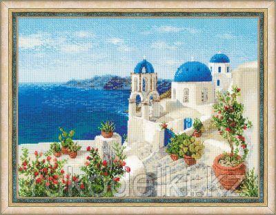 """Набор для вышивания крестом """"Санторини"""""""