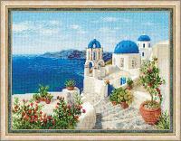 """Набор для вышивания крестом """"Санторини"""", фото 1"""