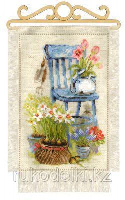"""Набор для вышивания крестом """"Дача.Весна"""""""