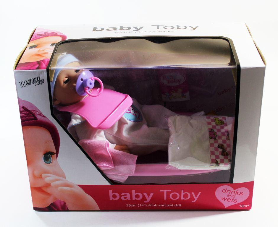 Baby toby с ванной