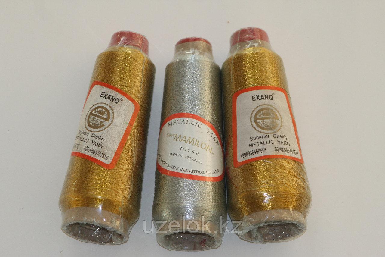 Люрексовые нитки золото,серебро