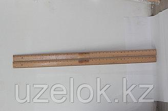Линейка деревянный 1 м с ручкой