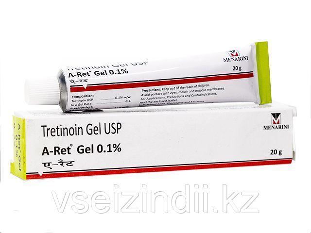 Третиноин гель 0,1% Tretinion gel (пилинг)