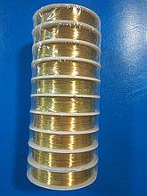 Проволока для рукоделия (золото), D -0,3 , 0,4 Алматы