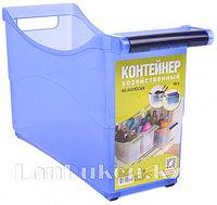 Контейнер хозяйственный универсальный 10 л. на колесах в ассортименте 82300 (003)