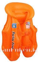 Надувной спасательный жилет для плавания SWIT VEST оранжевый (Step B)