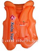 Надувной спасательный жилет для плавания SWIT VEST оранжевый (Step А)
