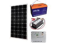 Солнечная электростанция 0,75 кВт/сутки(12В). ГАРАНТИЯ 1 ГОД, фото 1