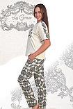 """Трикотажный женский костюм  для дома и отдыха """"Шура"""", фото 2"""