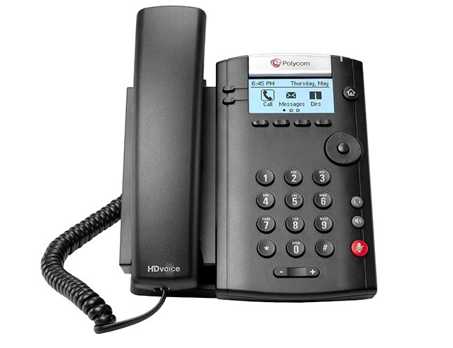 IP телефон Polycom VVX 201 Microsoft Skype for Business/Lync edition