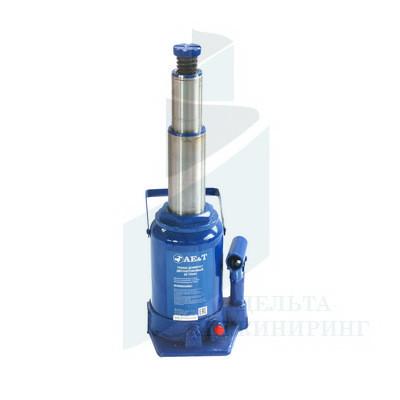 Домкрат бутылочный двухштоковый AE&T T02020 20 т