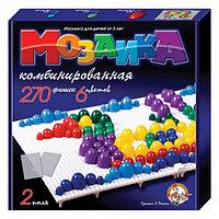 Пластмассовая детская мозаика, 270 элементов