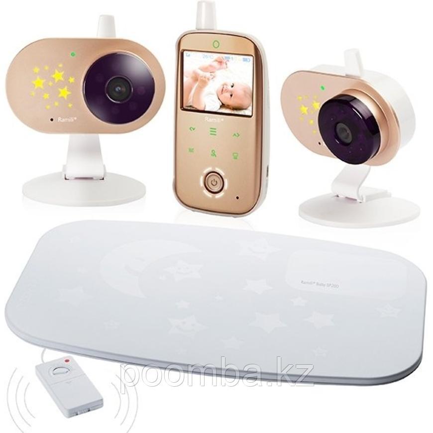 Видеоняня с двумя камерами и монитором дыхания Ramili Baby RV1200X2SP