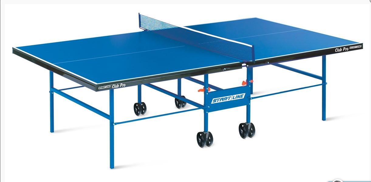 Club Pro - стол для настольного тенниса в помещении, подходит как для частного использования, так и для школ