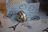 """Парные кольца """"Лабиринт чувств""""*, фото 1"""