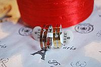 """Двойные кольца для влюбленных """"Красные розы"""", фото 1"""
