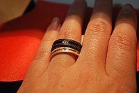 """Парные кольца для влюбленных """"Алмазное сияние"""" , фото 1"""