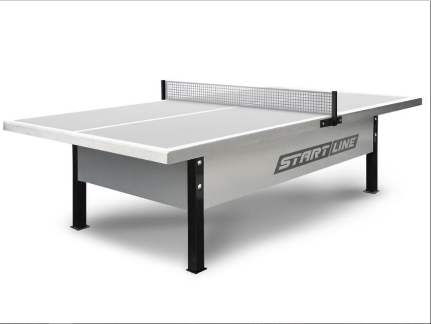 Стол для настольного тенниса, экстра-прочный, антивандальный - City Park Outdoor