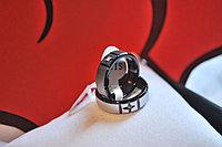 """Парные кольца для влюбленных """"Сияние любимых глаз"""" темные, фото 1"""