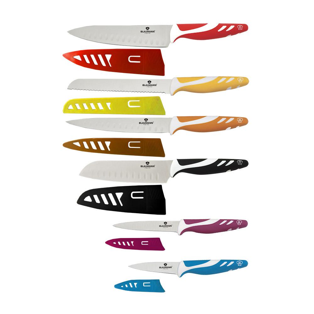 Набор ножей Blaumann нержавеющей стали (12пр.)