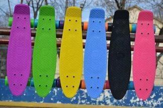 Пенни Борд (Penny Board) для классных трюков и быстрой езды (пластборд), фото 2