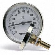 Термометр биметаллический аксиальный с погружной гильзой и уплотнением на штоке F+R801 SD (TAS)
