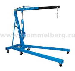 Кран гаражный гидравлический складной 2 т Trommelberg C10601B