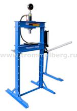 Пресс напольный на 12 т с манометром Trommelberg SD200803B