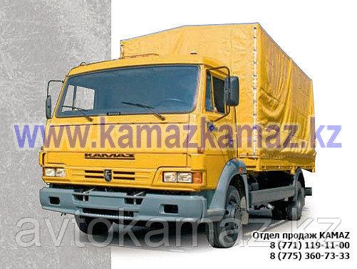 Бортовой грузовик КамАЗ 4308-6067-28 (Сборка РФ, 2017 г.)
