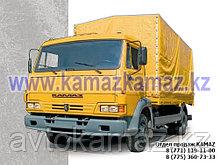 Бортовой грузовик КамАЗ 4308-6063-28 (Сборка РФ, 2017 г.)