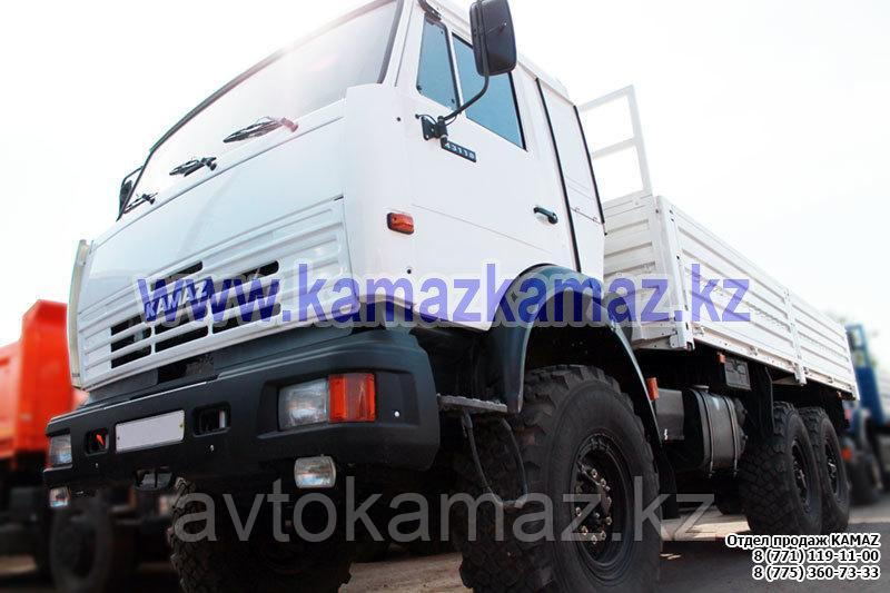Бортовой грузовик КамАЗ 43118-6023-46 (Сборка РФ, 2017 г.)